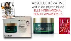 Rene Furterer Absolue Keratine, prijswinnaar, Elle Magazine, Beauty Awards 2016
